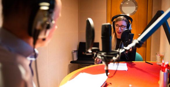 podcast production Edinburgh