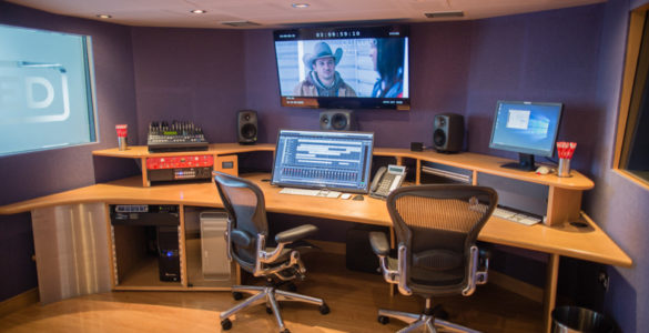 surround sound mixing studio