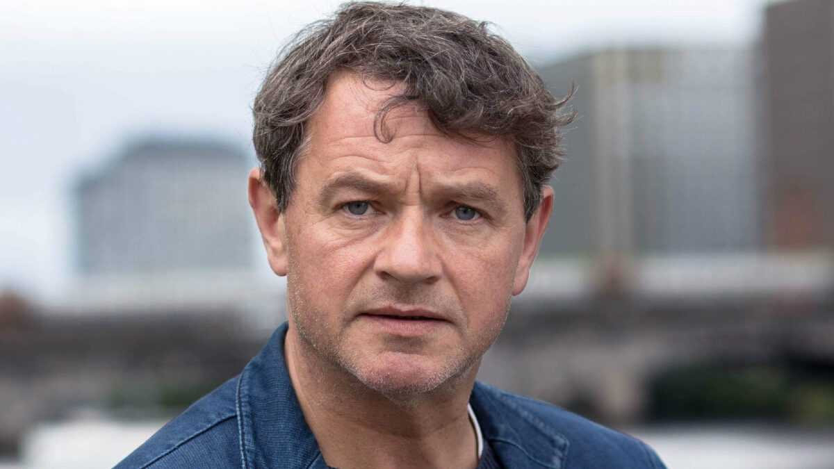 Brian McCardie in BBC's prison drama Time